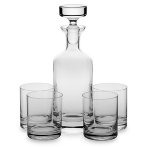 Ravenscroft Crystal Wellington 5 Piece Double Old Fashioned Set