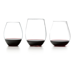 Riedel The Big O Stemless Red Wine Tasting Set of 3 Tumblers