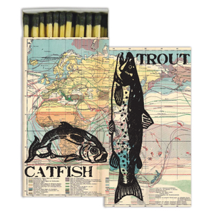 Homart Long Decorative Matches in River Fish Box