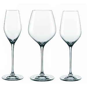 Nachtmann Supreme 12 Piece Leaded Crystal Wine Glass Set
