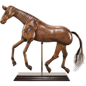 Authentic Models Artist's Posable Wooden Horse Sculpture