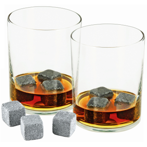 True Fabrications Glacier Rocks Soapstone Ice Cube, Set of 9