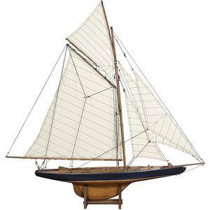 Authentic Models America's Cup Columbia 1901 Yacht, Small