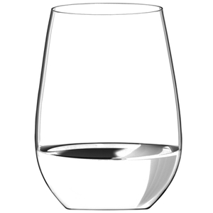 Riedel O Stemless Wine Tumblers Riesling /Sauvignon Blanc /Zinfandel / Sangiovese Set of 2