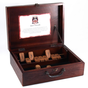 Old Century Shut the Box Game, 2 or More Players