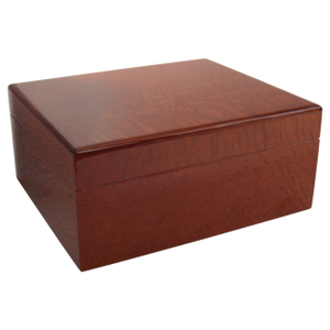 Savoy by Ashton Small Humidor in Beetlewood, 25 Cigar Capacity