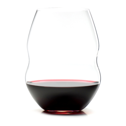 Riedel Swirl Stemless Red Wine Glass, Set of 2