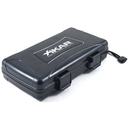 XiKar X-treme Protection Rugged Cigar Travel Case 5ct