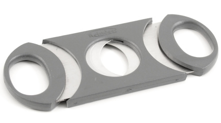 Metro 64 Ring Gauge Cigar Cutter Gray & Stainless Steel