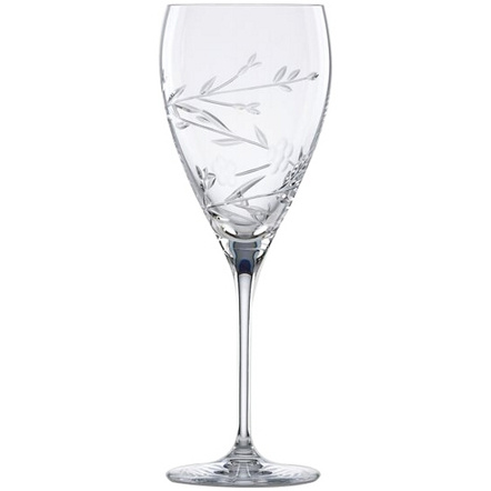 L by Lenox Crystal Floral Bouquet Water Goblet
