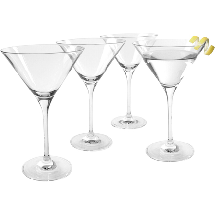 Artland Veritas Martini Glass, Set of 4