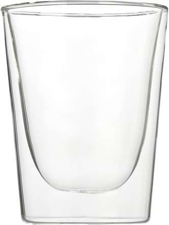 Luigi Bormioli Duos Double-Walled Double Old-Fashioned Tumbler, Set of 2