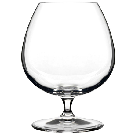 Luigi Bormioli Crescendo 15.5 Ounce Brandy Snifter Glass, Set of 4