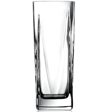 Luigi Bormioli Alfieri Beverage Glass, Set of 4