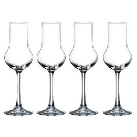 Nachtmann Vivendi Non-Leaded Crystal Stemmed Spirit Glass, Set of 4