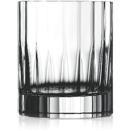 Luigi Bormioli Bach Crystal Double Old-Fashion Glass, Set of 4