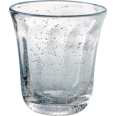 Artland Savannah Clear Bubble Double Old Fashion Glass, 10 Ounce