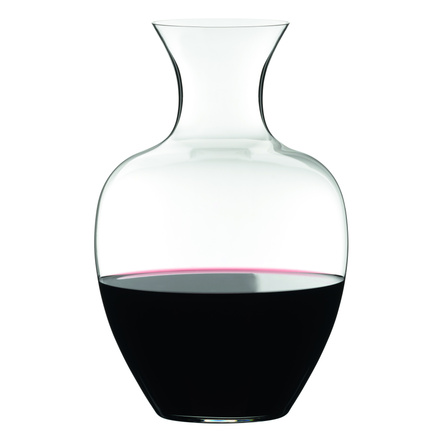 Riedel Leaded Crystal Big Apple Decanter, 67.6 Ounce