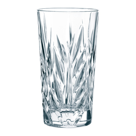 Nachtmann Imperial Leaded Crystal Longdrink Glass, Set of 4