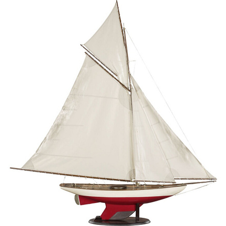 Authentic Models Bermuda Sloop Miniature Replica on Wood Base