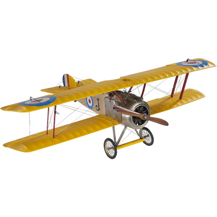 Authentic Models Sopwith Camel Biplane Desktop Airplane Model, Medium