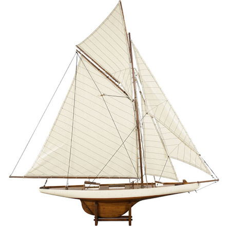 Authentic Models America's Cup Columbia 1901 Yacht, Medium