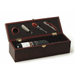 True Fabrications Deluxe 4 Piece Wooden Wine Gift Set