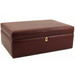 Italian Leather 100 Count Humidor with Free Travel Case