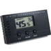 Black Digital Push Button Hygrometer and Thermometer