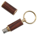 Rosewood Cigar Punch style Cutter Keychain