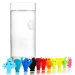 VacuVin Assorted Party People Glass Marker, Set of 12