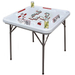 Bene Casa Blow Mold Domino Game Table