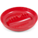 Gessner Red Round Plastic Executive Cigar and Cigarette Ashtray