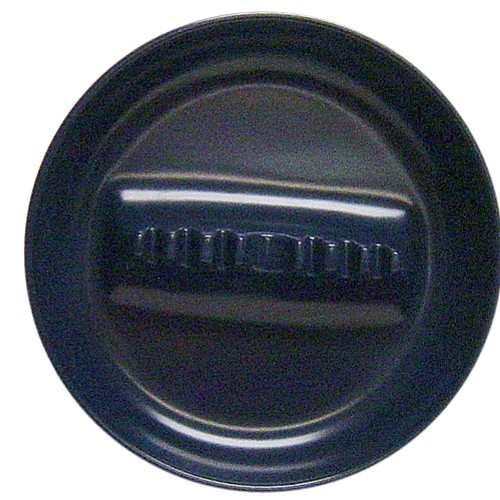 Large Dark Blue Melamine Tabletop Cigarette Ashtray