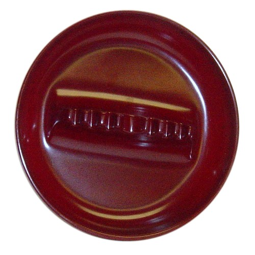 Large Dark Red Melamine Tabletop Cigarette Ashtray