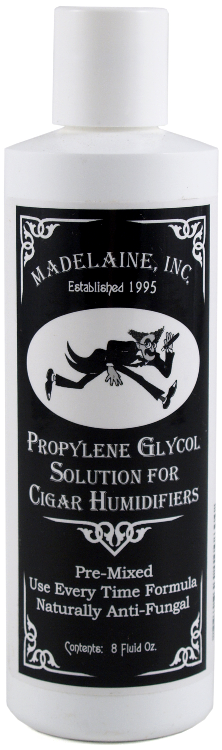 Madelaine 8 Ounce Premixed Propylene Glycol Cigar Humidifier Solution