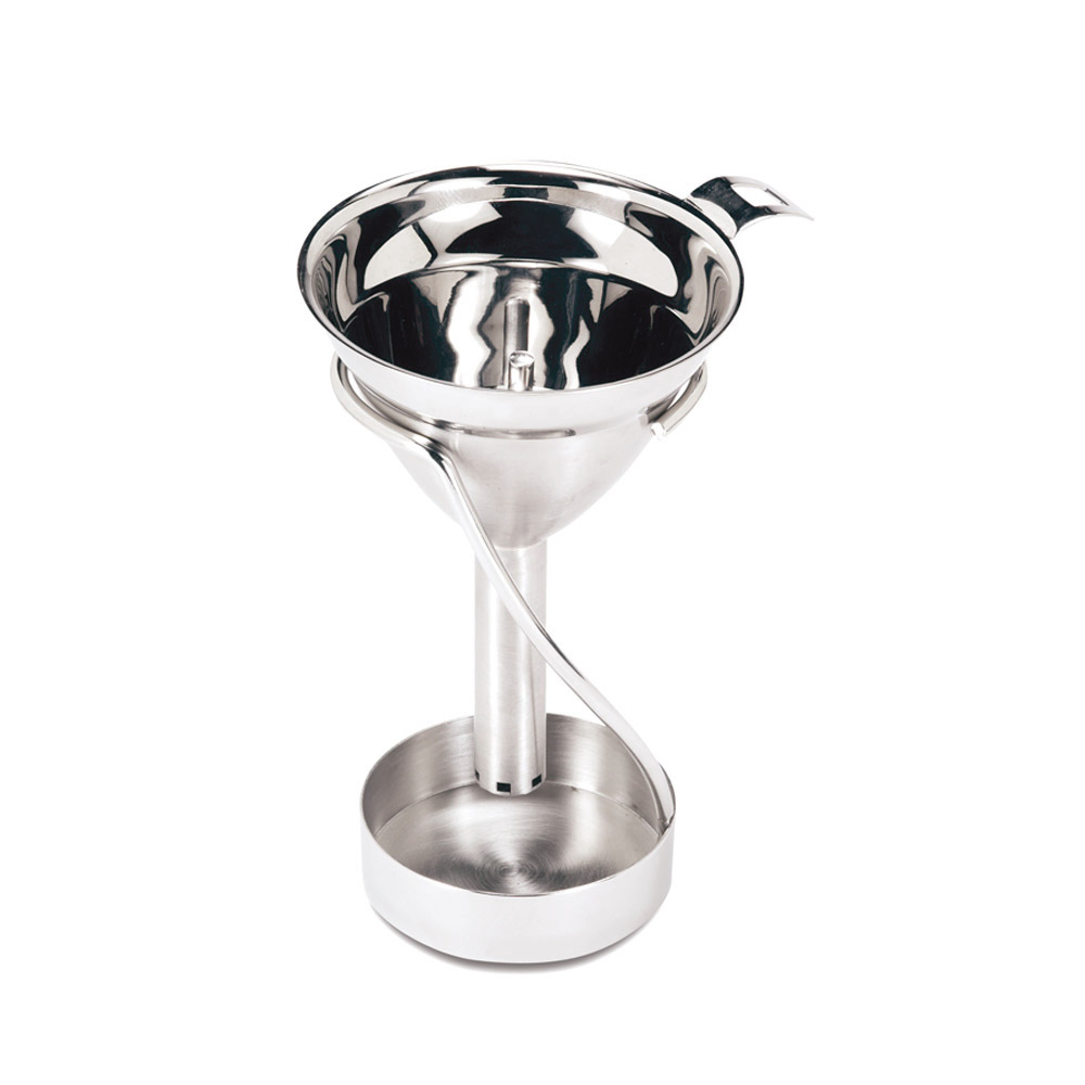 Swissmar Stainless Steel Wine Decanting Funnel with Stand