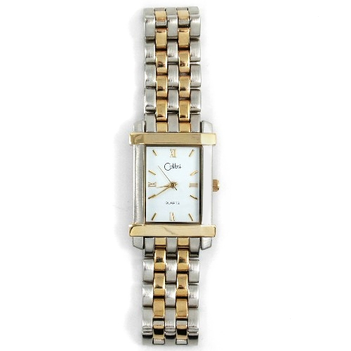 Colibri of London Two Toned Gold and Silver Wrist Watch
