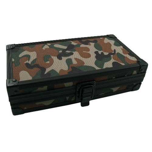 Craftsman's Bench Kodiak Camouflage 4ct Travel Cigar Humidor