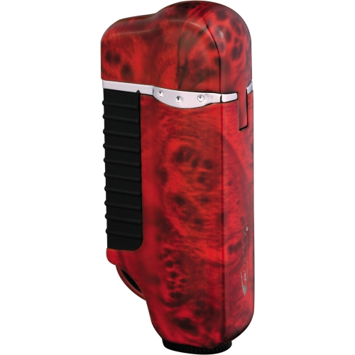 Vector Space Torch Lighter Mahogany Marble Lacquer