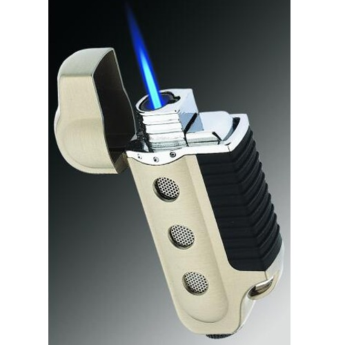 Vector Space Torch Lighter Nickle Satin