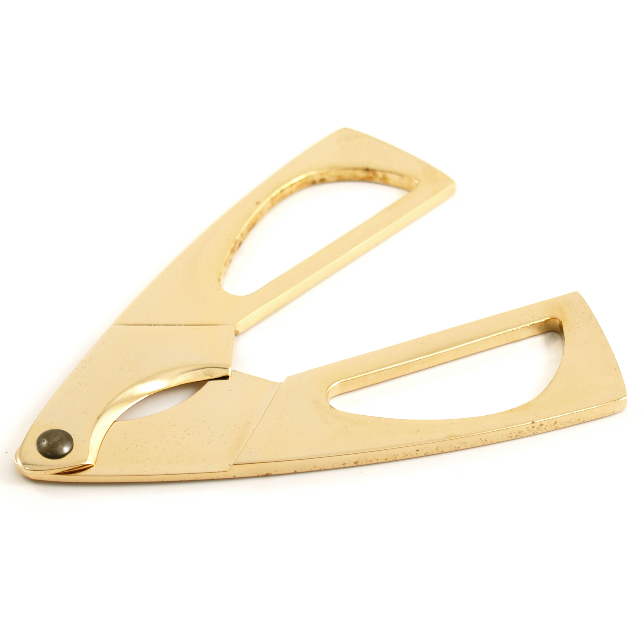 Gold Cigar Scissor Gold Plated Cutter