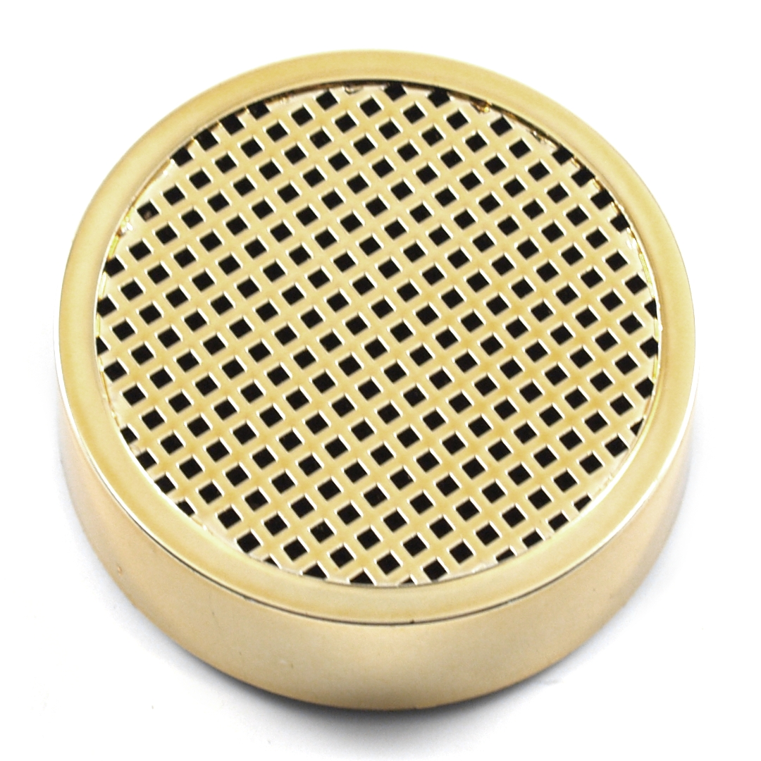Round Gold Humidifier For Cigar Humidor
