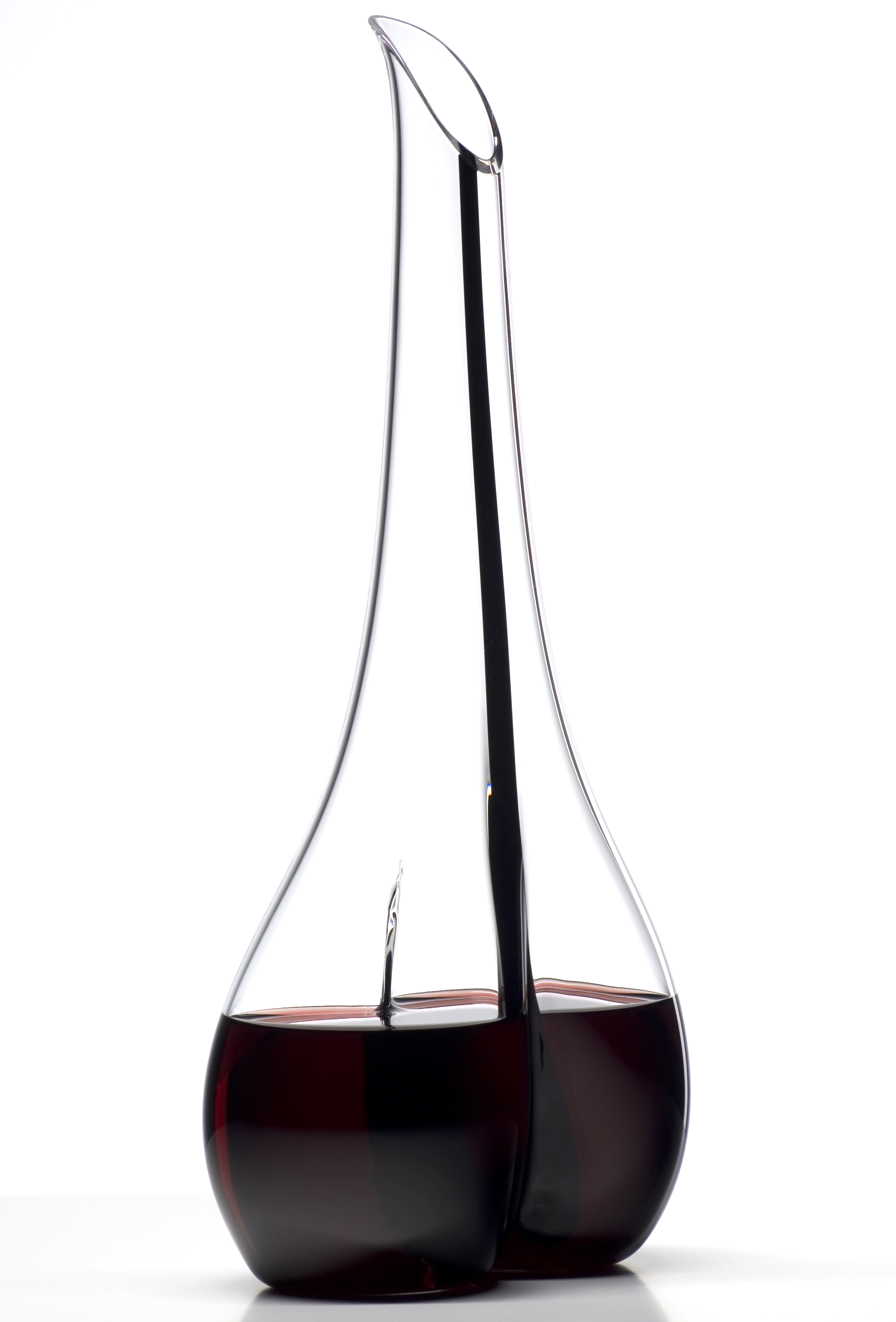 Riedel Black Tie Smile Leaded Crystal Wine Decanter