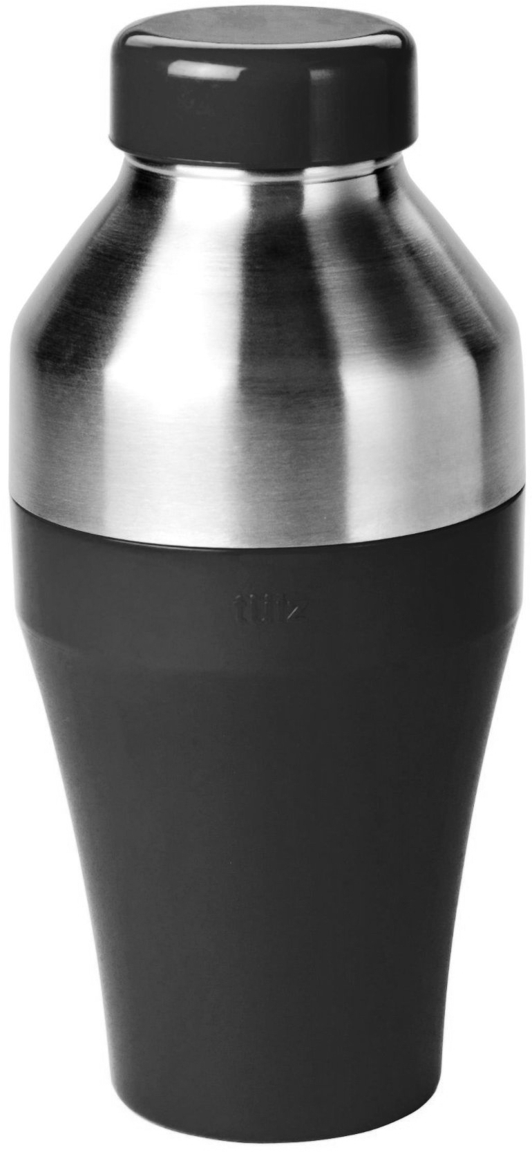Tulz Black Stainless Steel Cocktail Shaker