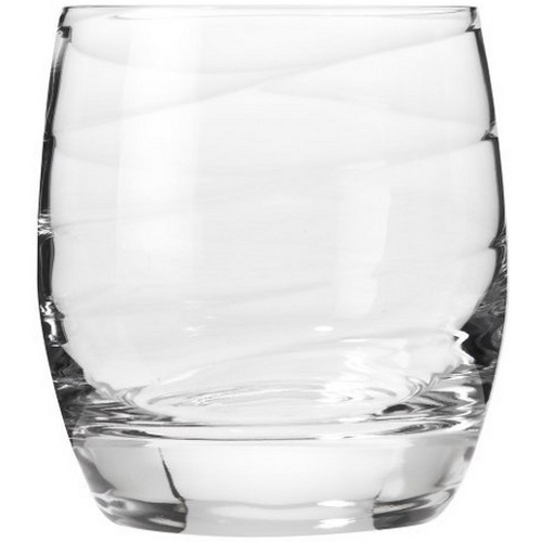 Luigi Bormioli Romantica 12.75 Ounce Double Old Fashioned Glass, Set of 4