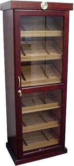 The Tower Cabinet Humidor Furniture 2000 Cigar Capacity