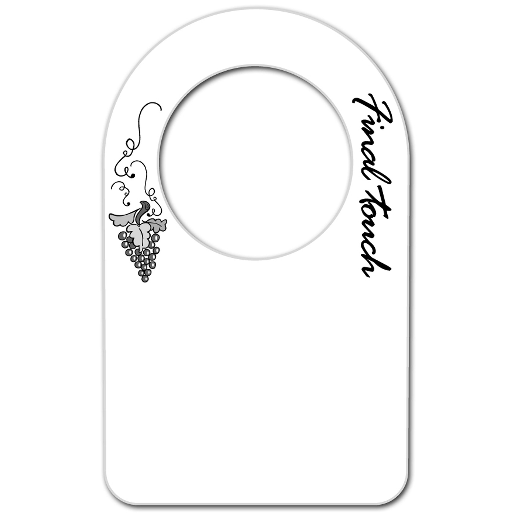 Final Touch Wine Bottle Tag, Set of 48