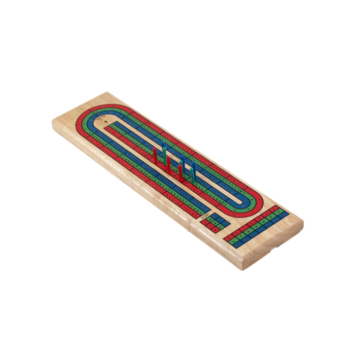 Gatogi Wooden 3 Track Cribbage Game