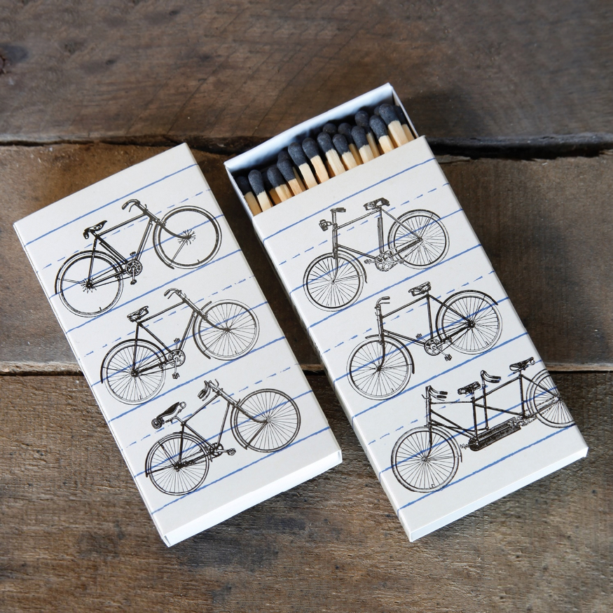 Homart Long Decorative Matches In Bicycles Box